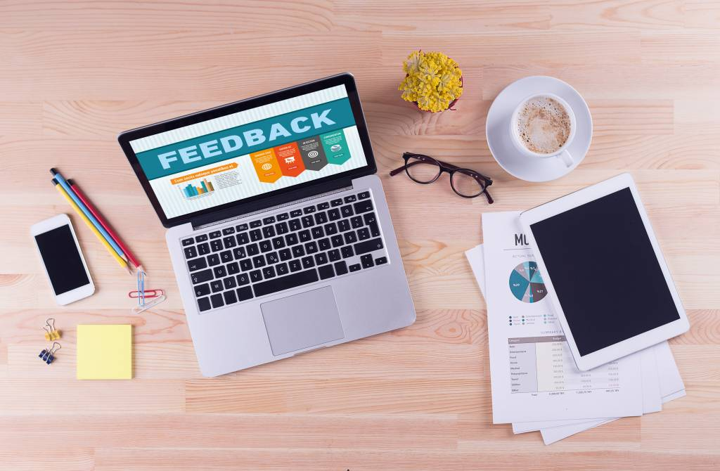 the process of 360-degree feedback