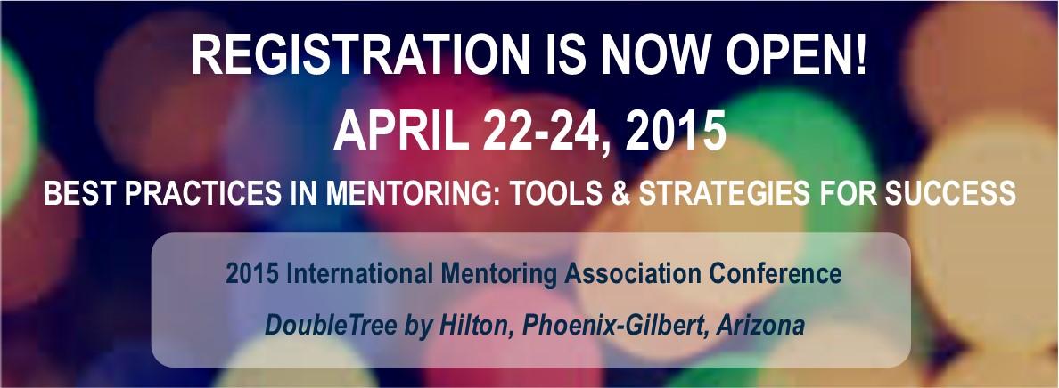 International Mentoring Association Conference 2015