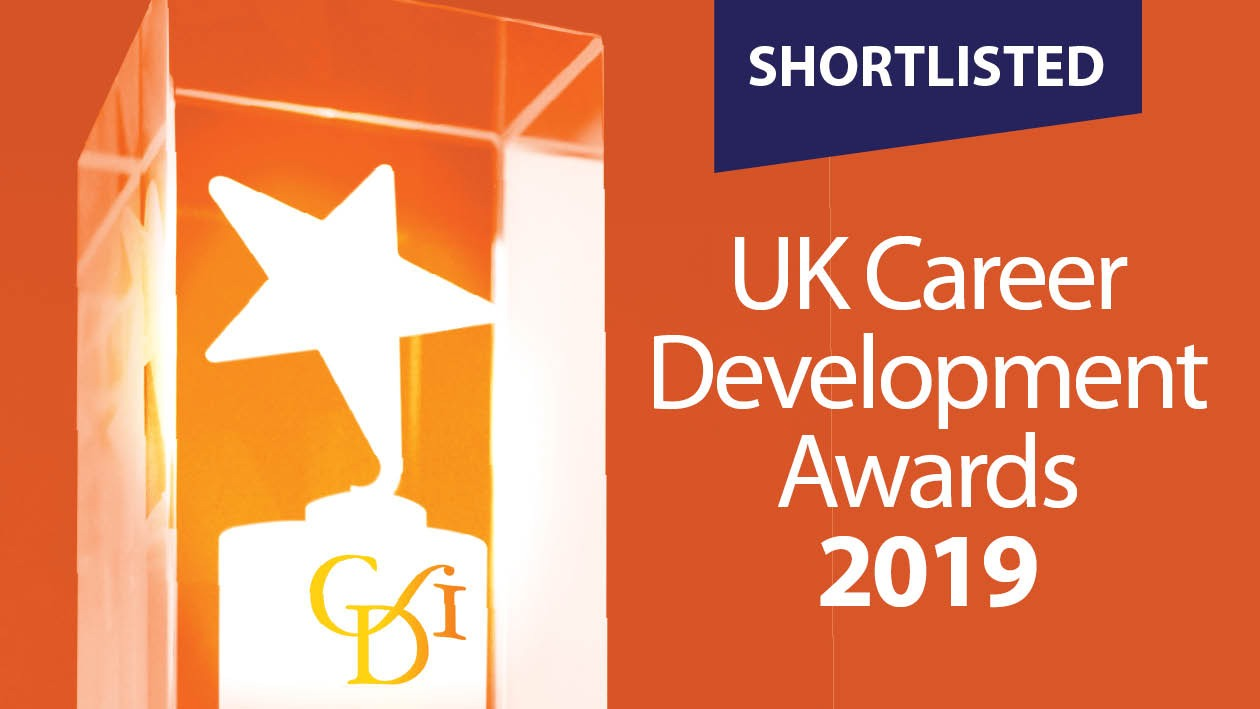 UK Career Development Awards 2019 - Shortlisted