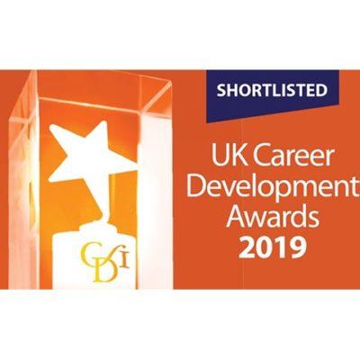 UK Career Development Awards 2019 shortlisted