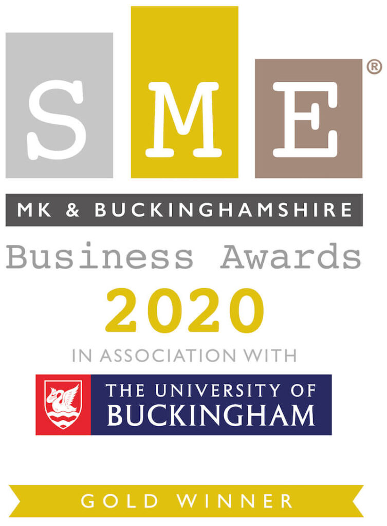SME MK & Buckinghamshire Business Awards 2020 Gold Winner