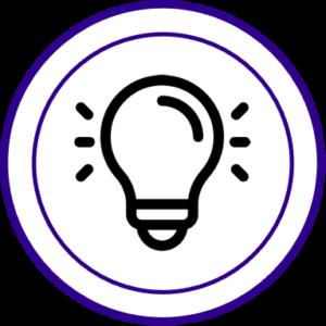 Lightbulb icon for leaders